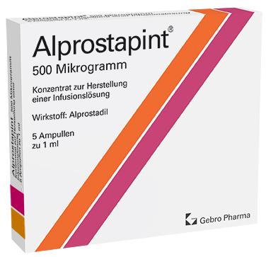 Alprostapint® 500 µg-Konzentrat zur Herstellung einer Infusionslösung