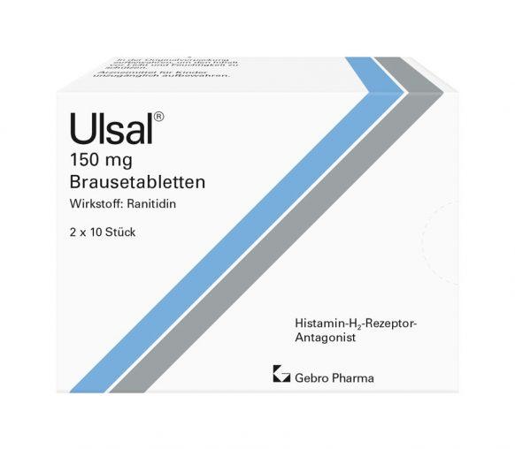 Ulsal® 150 mg Brausetabletten