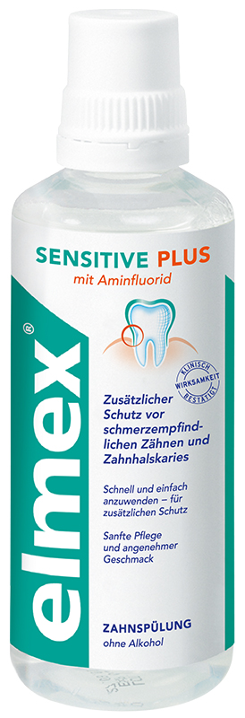 elmex® SENSITIVE PLUS mouthwash