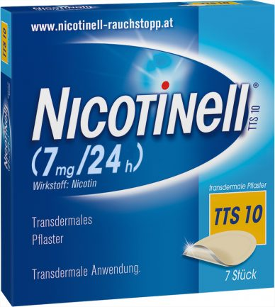 Nicotinell TTS 10 transdermale Pflaster