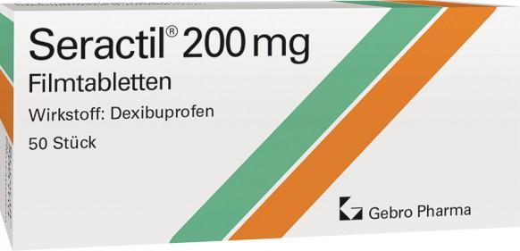 Seractil® 200 mg film-coated tablets