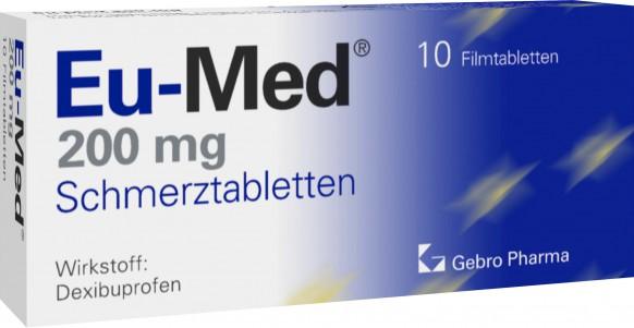 Eu-Med® 200mg Schmerztabletten