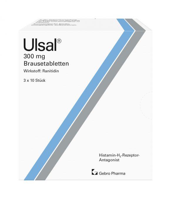 Ulsal® 300 mg Brausetabletten