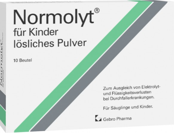 Normolyt® for children – soluble powder