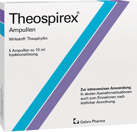 Theospirex® ampoules