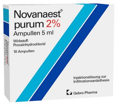 Novanaest® purum 2%-Ampullen