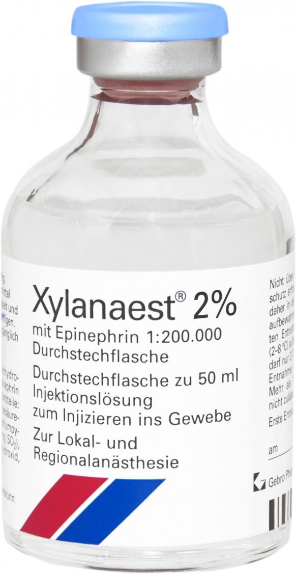 Xylanaest® 2% mit Epinephrin-Durchstechflaschen
