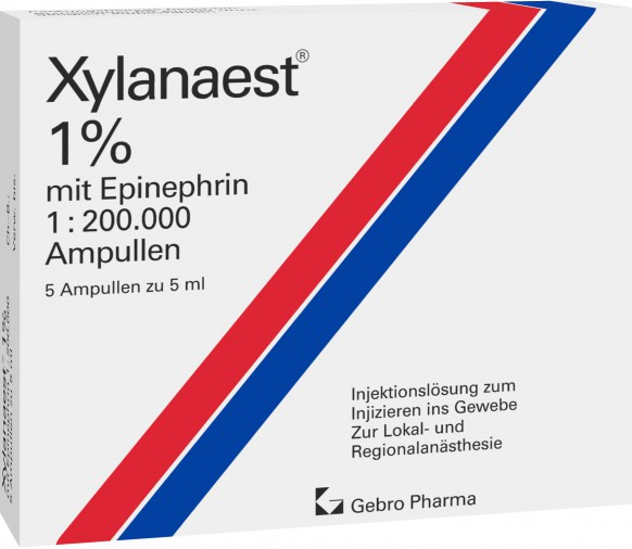 Xylanaest® 1% with epinephrine ampoules