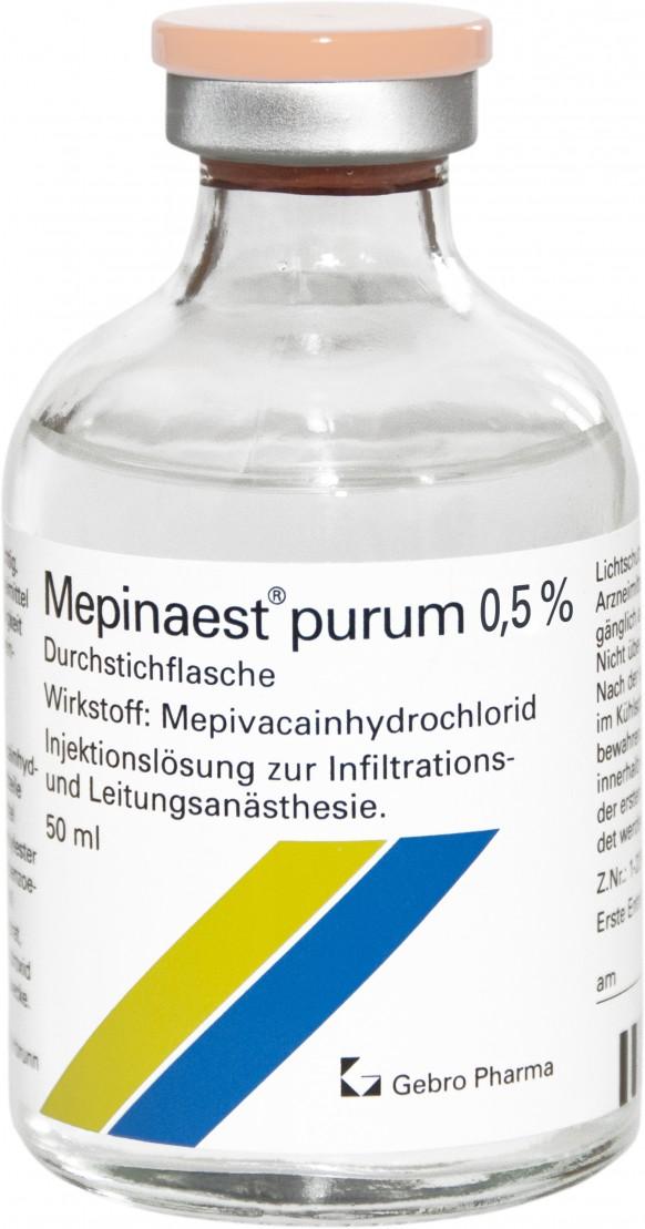 Mepinaest® purum 0,5%-Durchstechflaschen