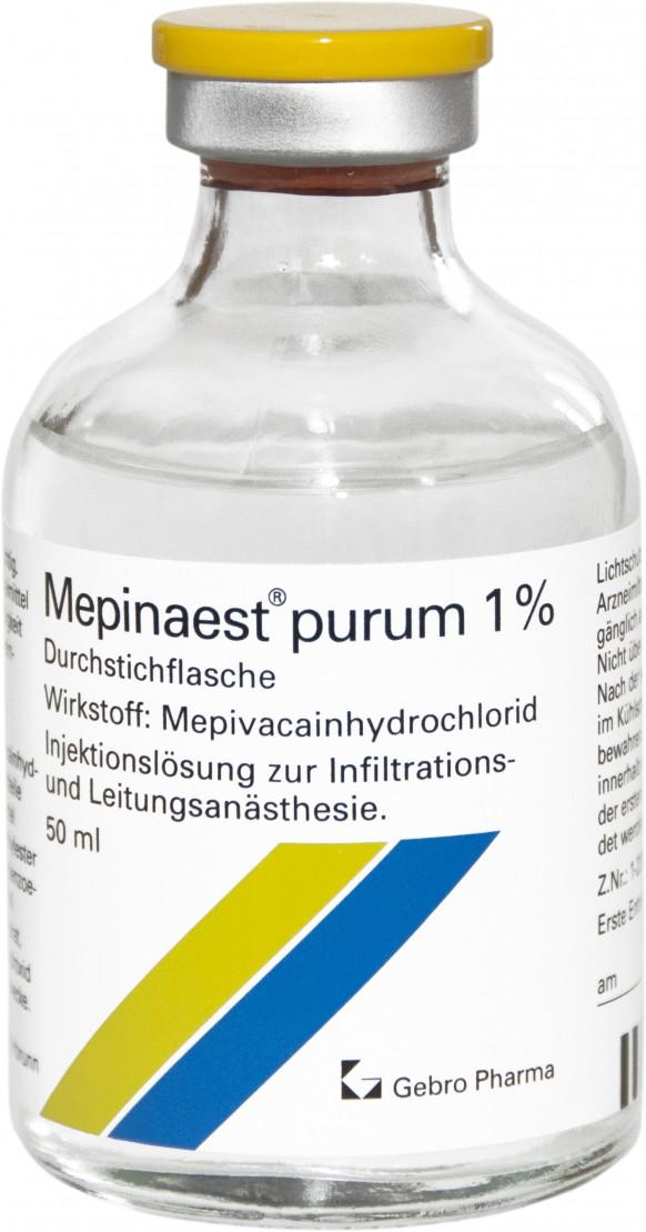 Mepinaest® purum 1%-Durchstechflaschen