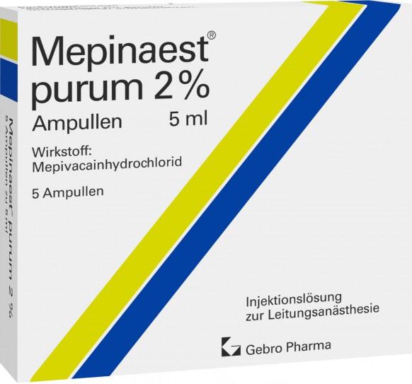 Mepinaest® purum 2%-Ampullen