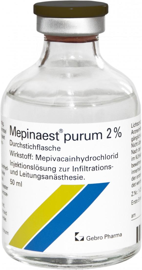 Mepinaest® purum 2%-Durchstechflaschen