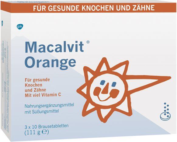 Macalvit Orange Brausetabletten