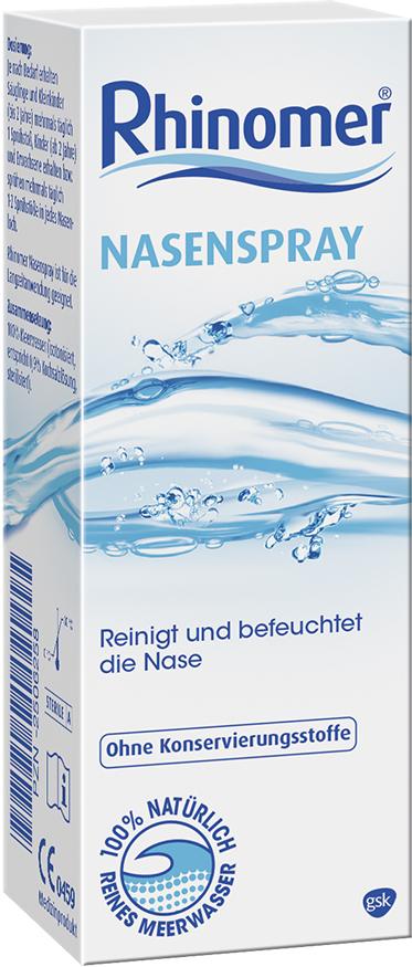 Rhinomer nasal spray