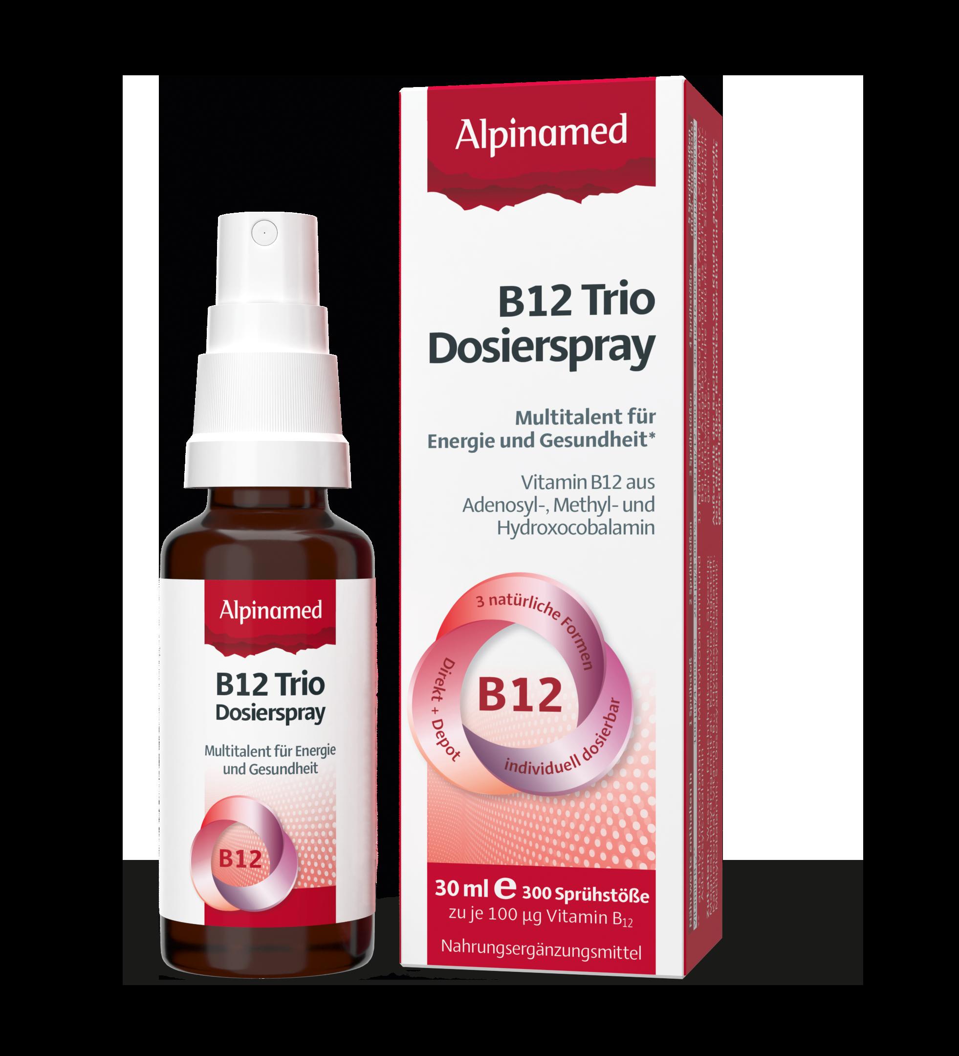 Alpinamed® B12 Trio Dosierspray