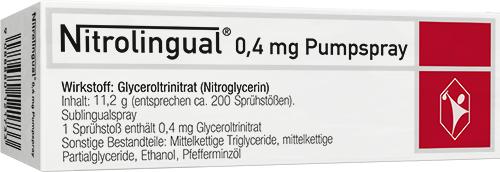 Nitrolingual® 0,4 mg Pumpspray