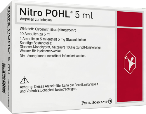Nitro POHL®-Ampullen (10x5ml) zur Infusion