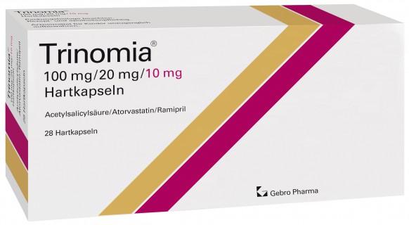 Trinomia® 100 mg/20 mg/10 mg Hartkapseln