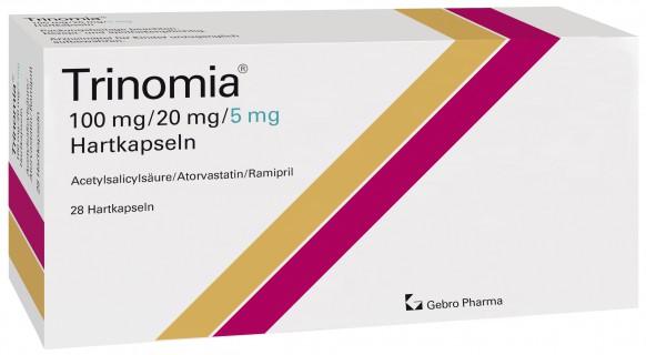 Trinomia® 100 mg/20 mg/5 mg Hartkapseln