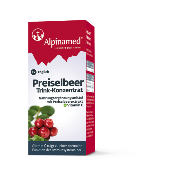 Alpinamed® lingonberry concentrate