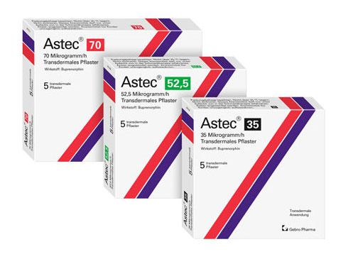 Astec® transdermales Pflaster