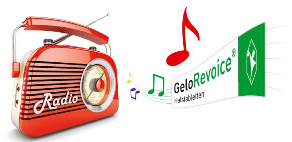GeloRevoice® erstmals im Radio