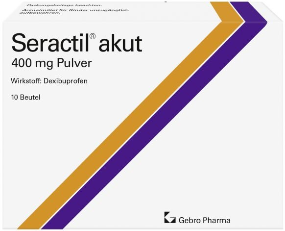 Seractil® akut 400 mg – powder for oral suspension