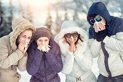 Schnupfen, Erkältung oder doch eine Grippe?