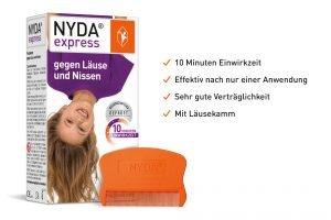NYDA Express Packung mit Vorteile