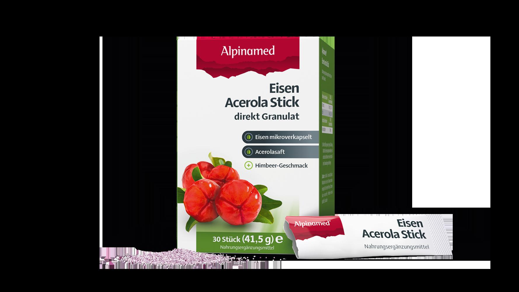 Alpinamed® Eisen Acerola Stick